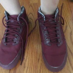 Vans Red low sneakers